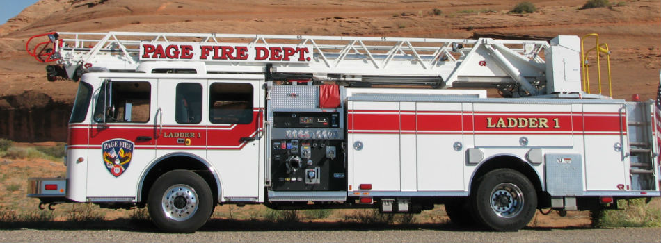 Ladder 1 Parked in Desert