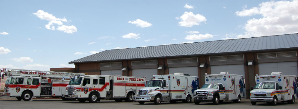 Station 1 with Apparatus